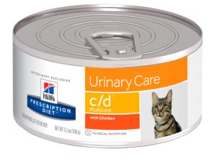 Hill'sPrescription Diet c/d, Cuidado Urinario - Wet - Cat