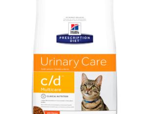 Hill'sPrescription Diet c/d, Cuidado Urinario - Cat